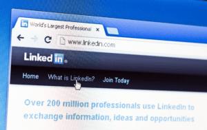 LinkedIn home screen
