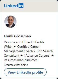 Frank Grossman Linkedin