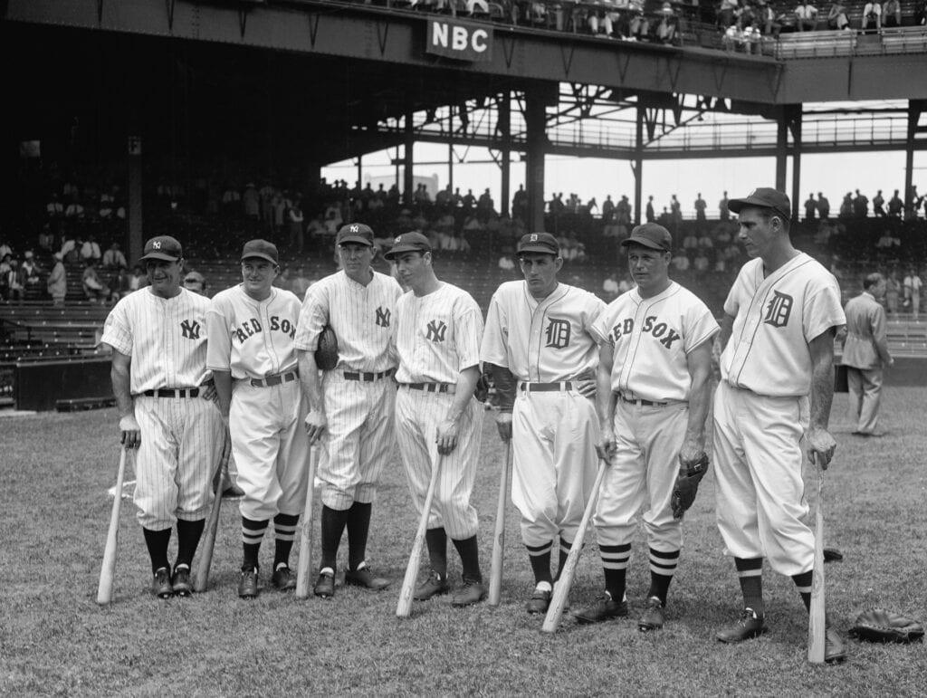 Image of an all-star baseball team